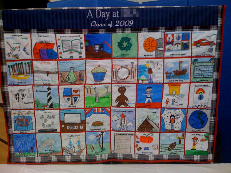 5th grade quilt